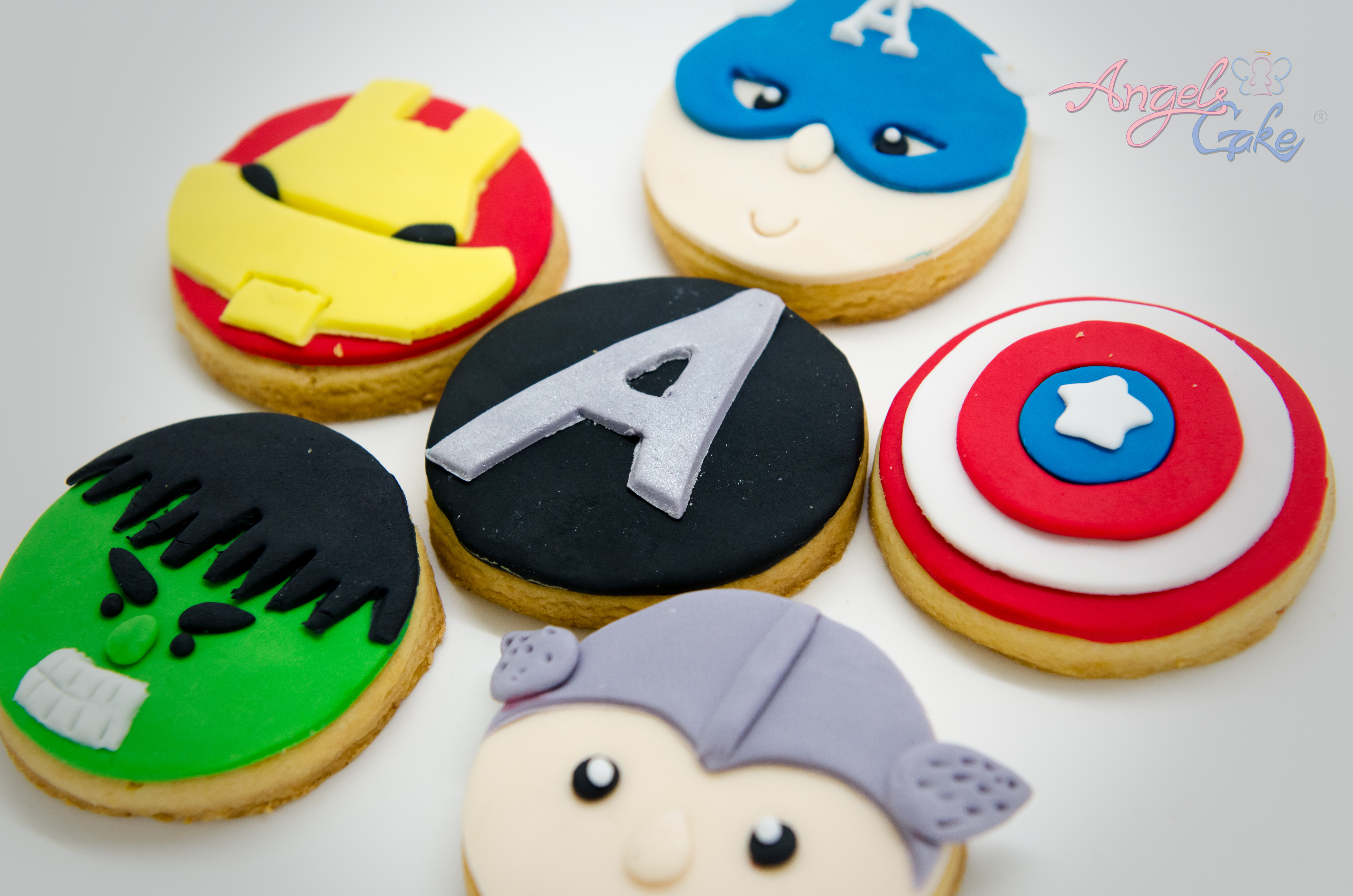 12 month girl photo ideas - Avengers Cupcakes All Things Cupcake