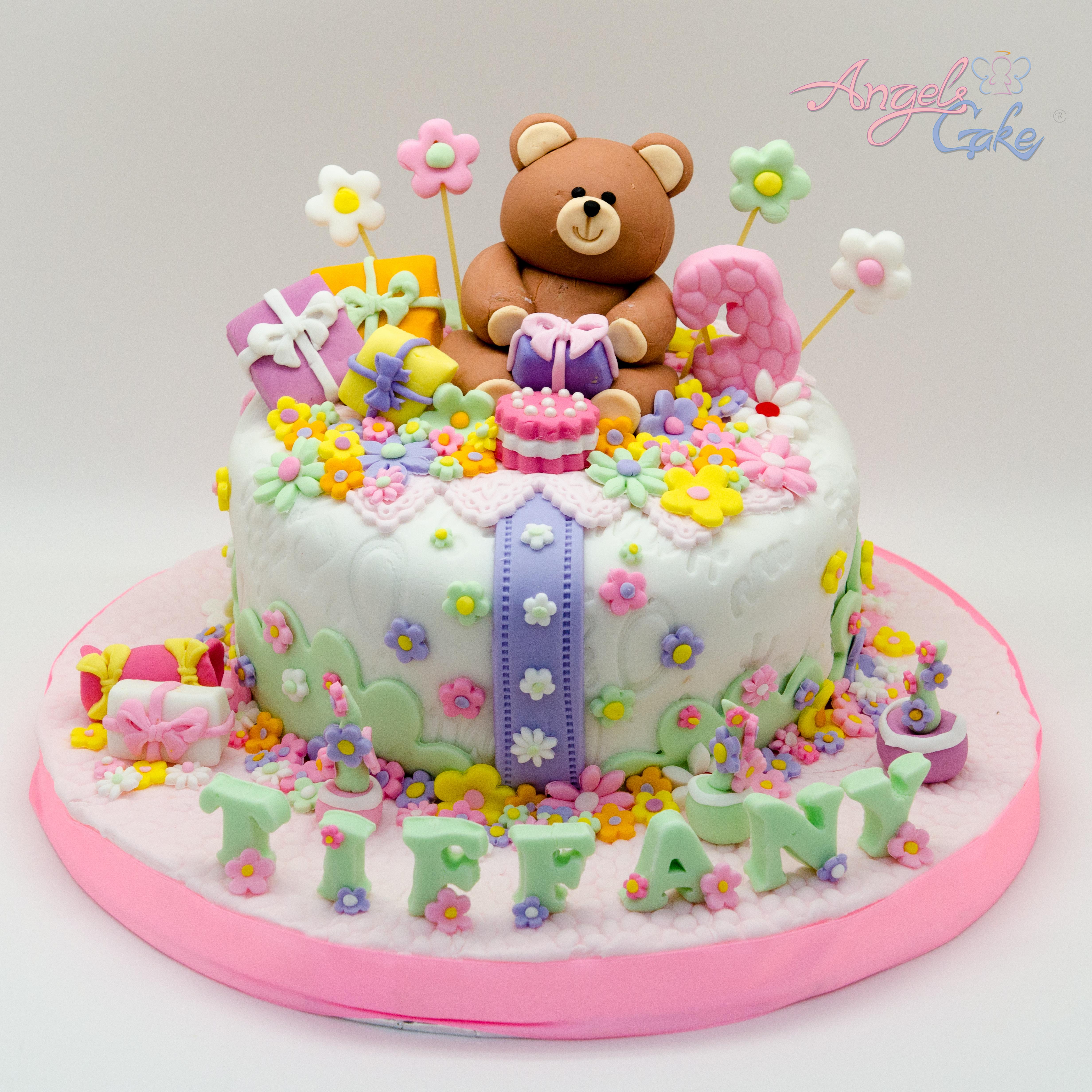 Teddy Bear In The Garden Angels Cake S Blog
