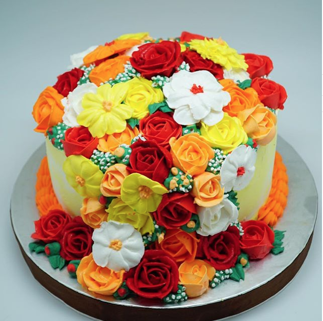 Summer Flower Cake