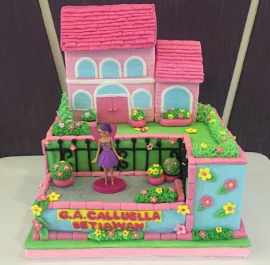 Barbie Dream House Cake